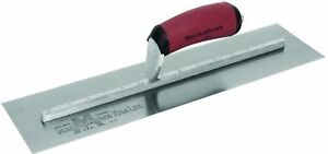Marshalltown Mxs60d 16 x3 Finishing Trowel With Curved Durasoft Handle