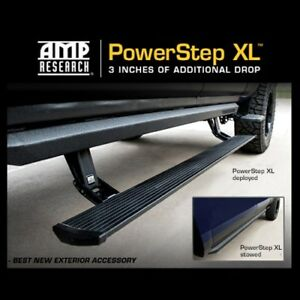 Amp Power Step Xl Folding Side Steps Running Boards 10 18 Ram 2500 3500 Mega Cab