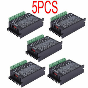 5x Motor Drivers Controller Single Cnc Axis 4a Tb6600 2 4 Phase Hybrid Stepper