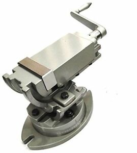 Precision Milling Vise Vice Swivel Base Angle Tilting 2 Way jaw 3 Inches 75