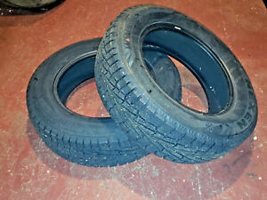 225 65 17 Nexen Win Guard Win Spike Suv Snow Tires Dodge Caravan Winter Tires