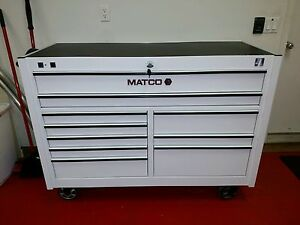 Matco Rollaway Power Bottom Tool Box 4s 2bay 25 New Condition