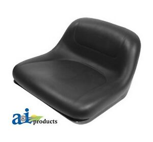 Ai Gy20063 Seat Blk Fits John Deere Riding Mower