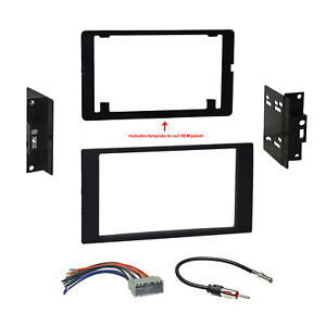 Car Radio Stereo Dash Kit Harness For 07 08 Dodge Caliber Jeep Compass Patriot