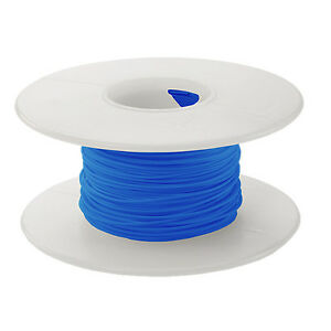 30 Awg Kynar Wire Wrap Ul1423 Solid Wiremod Type 100 Foot Spools Blue New