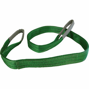 Portable Winch Polyester Slings 6400lb Cap 6ft X 2in 2 Pack Pca 1260x2