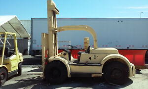 Hyster Tc200 Forklift Fork Truck Diesel Engine Runs And Operates