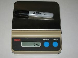 Ohaus CT6000-S Electronic Portable Scale 6000 X 1g Capacity ~ Balance