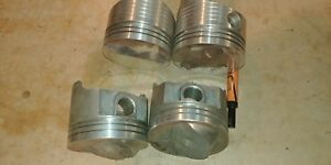 22 327 Sbc Pistons Used Mixn Match Forged 2 M T And 2 Trw 4 060 030
