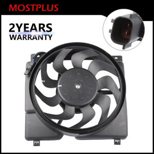 1pc Radiator Cooling Fan Motor W 10 Blade Fit 97 01 Cherokee 4 0l Lhd Models