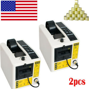 2x us Local automatic Tape Dispensers Adhesive Cutter Cutting Packaging Machine