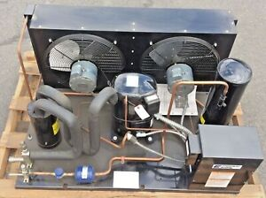 New Copeland 4 Hp Vjaf 040h tfd 020 Air Cooled Condensing Unit 460v 3ph R404 507