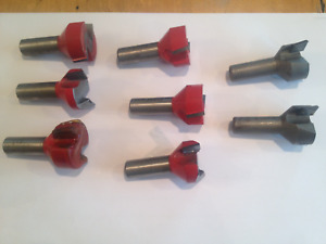Freud Red Drill Bits 1 1 4 X 1 2 Shank Mortising Router Bit