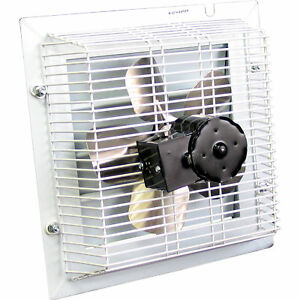 Schaefer Shutter style Exhaust Fan 12in sft 1200