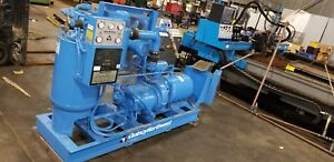 Quincy 241 d 50 Hp Rotary Screw Air Compressor 4544 Hours