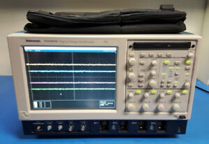 Tektronix Tds6804b 8ghz 20gs s Digital Oscilloscope W Ssd Opts Rte Pce