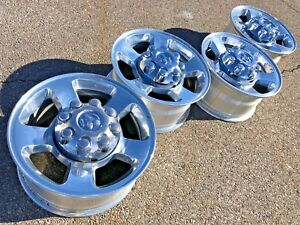 17 Dodge Ram 2500 Laramie 3500 Oem Factory Stock Wheels Rims 8x165 Slt Limited
