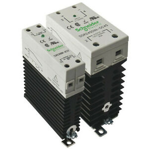 Schneider Electric Ssr645din ac45 Solid State Relay 90 To 280vac 45a