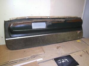 1971 1972 1973 Riviera Front Interior Lower Door Panel Green Wood Grain Oem Ruff