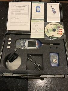 Casella Cel 620a Class 2 Digital Noise Sound Level Meter Cel 120 2 Calibrator