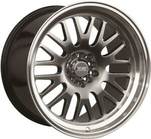 15x8 Xxr 531 4x100 114 3 20 Chromium Black Machined Lip Wheel 1