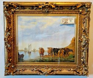 19c Museum Quality Gilt Frame Large Huge Rococo Baroque Victorian Lg Ornate