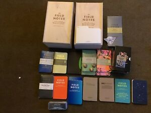 Lot Of Field Notes And Archival Boxes Space Pen