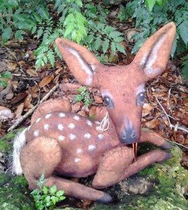 Primitive Folk Art Baby Deer Fawn Cloth Doll Paper Pattern For Sewing