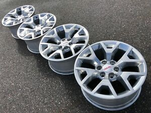20 Gmc Yukon Sierra Tahoe Denali Chevy Oem Factory 22 Stock Wheels Rims 6x5 5