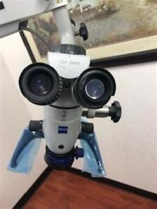 Zeiss Pico Opmi Halogen Dental 6 step 12 5x Microscope For Oral Surgery