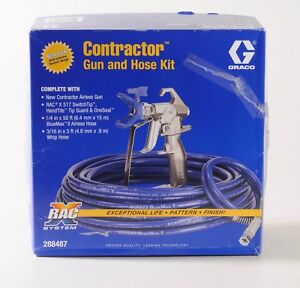 Graco Contractor Gun And Hose Kit 288487 Airless Spray