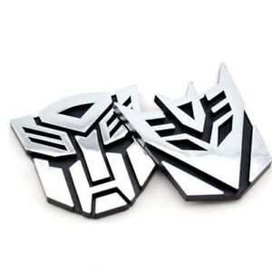 Universal Car 3d Autobot Logo Sticker Transformers Emblem Badge Graphics Decal
