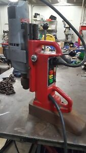 Milwaukee Magnetic Drill Press 1 8 To 5 8 Chuck Usa Made