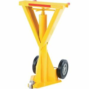 Trailer Stabilizing Jack Hydraulic Beam 40klb Lifting Cap 41in To 47in Range