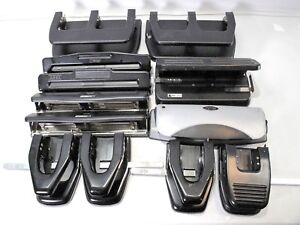 3 Hole Paper Punch Office Supply Lot Of 12 acco Swingline Master Products