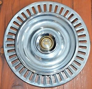 1955 55 1956 56 Chrysler Imperial Hubcap Wheel Cover Hub Cap Center Cap Used
