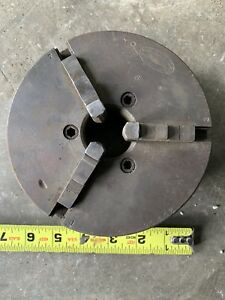 Union Mfg Co Lathe Chuck 3 jaw 6 Craftsman