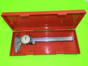 001 Mitutoyo Vintage 505 646 50 Dial Caliper With Case
