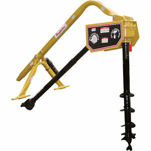 King Kutter Pto Posthole Diggerwith 6in Auger Phd 06 sc yk