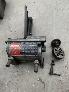Atlas Craftsman 12 Lathe Quick Change Gear Box