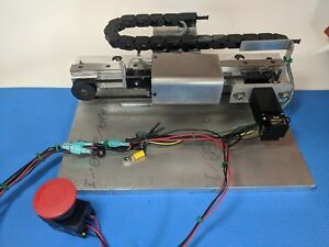 Linear Motion Belt Driven Thk Slide And Rail Arcus Motors Assembled 8 In Travel
