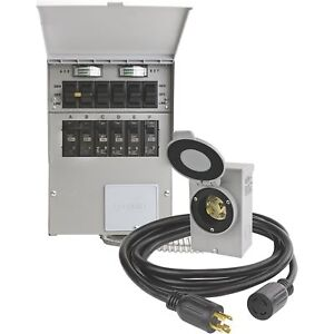 Reliance Transfer Switch Kit 6 Circuits Model 306crk