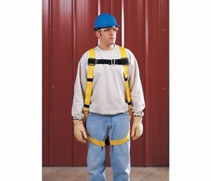 Miller grainer Harness Fall Protection Workman Construction New L xl