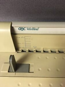Gbc Velobind System Two Binding Machine