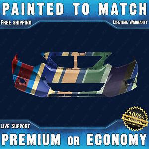 New Painted To Match Front Bumper Replacement For 2016 2018 Nissan Altima 16 18
