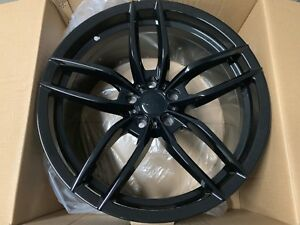 19 Staggered Gloss Black Voss Style Wheels For Ford Mustang Maxima Altima 5x114
