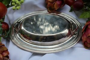 Vintage Covered Serving Dish Concord International Silver Company Clearance