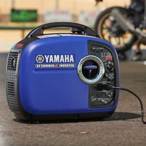 Yamaha Ef2000isv2 2000 Watt Portable Inverter Generator Ef2000is 2018