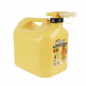 No spill 1457 No spill Diesel Fuel Can 5 Gallons
