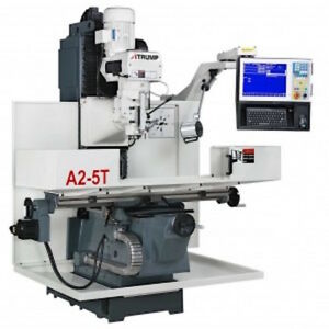 Atrump A2 5t Cnc Bed Mill Milling Machine With Centroid Cnc Control